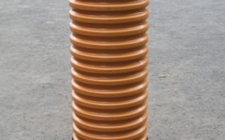 Пластиковые дренажные колодцы — виды, особенности и преимущества