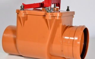 Правильное применение обратного клапана 110 мм для канализации — рекомендации экспертов