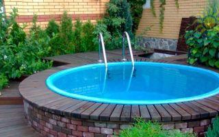 Крытый бассейн на дачу своими руками — пошаговая инструкция