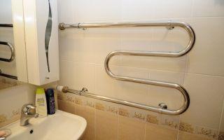 Установка настенного полотенцесушителя в ванной комнате — процесс монтажа и установка