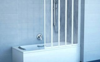 Стеклянная штора для ванны — преимущества и особенности