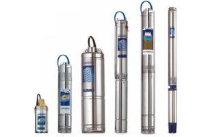 Глубинные насосы — лучший выбор, технические характеристики