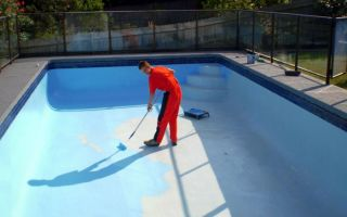 Гидроизоляция бассейна своим руками, подробная инструкция