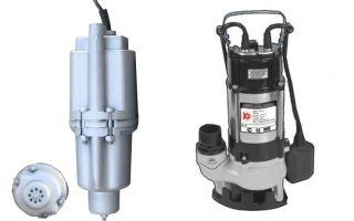 Как установить глубинные погружные насосы для воды, особенности