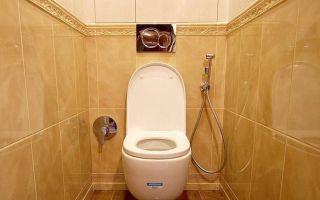 Гигиенический душ в туалете — как его установить?