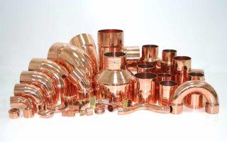 Применение в водопроводе медных труб и фитингов — способы использования и особенности