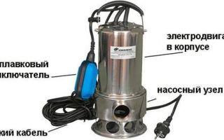 Использование дренажного насоса с поплавковым выключателем, инструкция