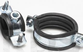 Металлические (стальные) хомуты для крепления труб — особенности и рекомендации