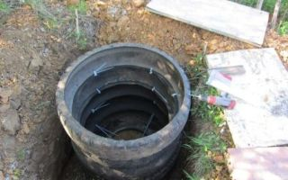 Выгребная яма из покрышек своими руками, пошаговая инструкция