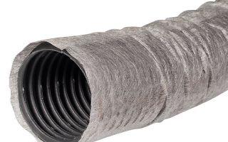 Трубы дренажные с геотканью гофрированные перфорированные — описание и преимущества