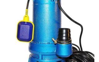 Фекальный мощный насос с измельчителем — конструкция и характеристики