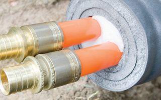 Особенности утепления водопроводных труб — способы установки и применения
