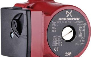 Циркуляционные насосы грундфос: технические характеристики, устройство агрегатов