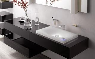 Разновидности умывальников в ванных комнатах — материалы изготовлени и лучшие производители