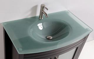 Стеклянная раковина для ванной комнаты, это оригинальное дизайнерское решение — конструкции и характеристики