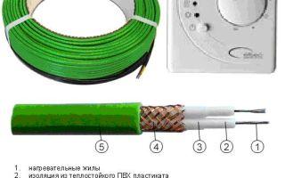 Греющий кабель для водопровода — пошаговая инструкция