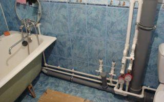 Разводка труб в ванне своими руками — поэтапный процесс работ
