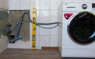 Подключение стиральной машины к водопроводу и канализации своими руками, видео рекомендации — подробная инструкция