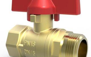 Шаровой латунный кран марки 11б27п1: технические характеристики, принцип устройства