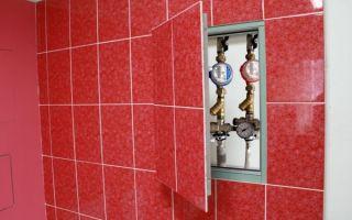 Размеры сантехнического люка бытового металлического — преимущества и особенности