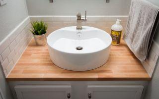 Какая накладная раковина на столешницу лучше подойдет в ванную комнату — критерии выбора