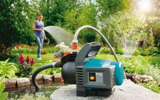 Как выбрать насос повышения давление воды для полива огорода на даче