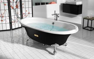 Размеры и другие особенности чугунной ванны : характеристики и особенности