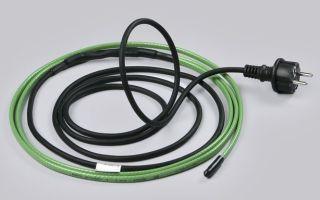 Греющий и саморегулирующий кабель для водопровода — специфика оборудования