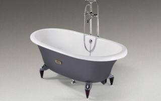 Чугунная ванна: размер для любой квартиры и цена на любой кошелек