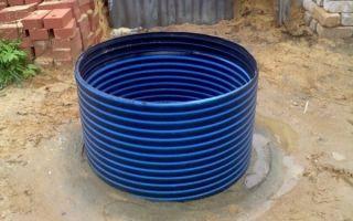 Пластиковые кольца — основа ствола-трубы для строительства бытовых колодцев — преимущества и особенности