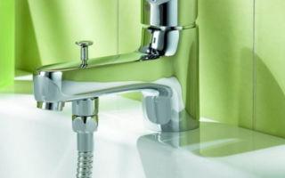 Смеситель для ванной с душем — советы по выбору и способы установки