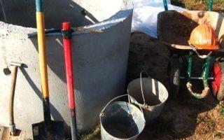 Как происходит копка колодца из бетонных колец — принцип работы и полезные советы
