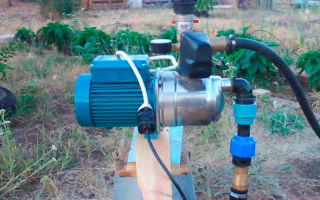 Установка поверхностного насоса — этапы и процесс работ