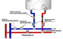 Нюансы схемы подключения водонагревателя к водопроводу — особенности и преимущества