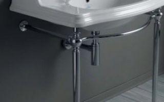 Кронштейн для раковины в ванную — преимущества и недостатки