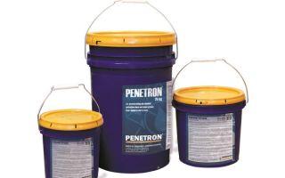 Для чего используют пенетрон — способы и принципы использования