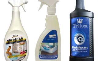 Какие лучшие средства для мытья акриловой ванны — советвюы и отзывы