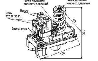 Регулировка реле давления насосной станции — особенности конструкции и настройка