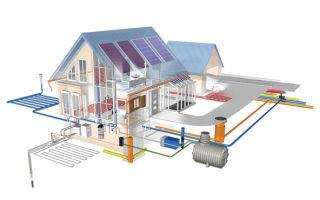 Система водоотведение в частном доме, варианты проекта, способы монтажа