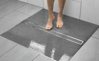 Трап для душа в полу из плитки -особенности и преимущества
