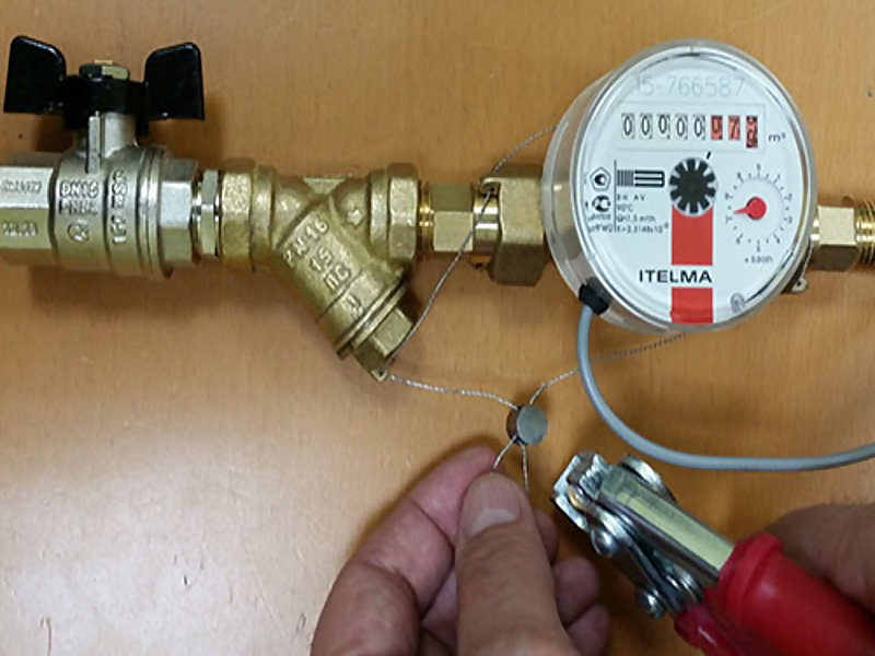 Правила установки счетчиков воды порядок монтажа  как опломбировать